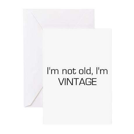I'm Vintage Greeting Cards (Pk of 10)