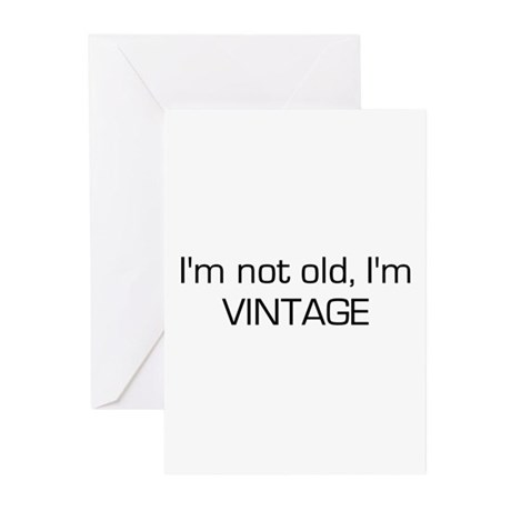I'm Vintage Greeting Cards (Pk of 20)