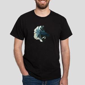 Blue Betta Male T-Shirt