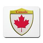 Canada Metallic Shield Mousepad