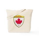 Canada Metallic Shield Tote Bag