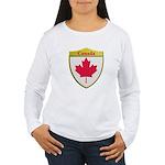 Canada Metallic Shield Long Sleeve T-Shirt