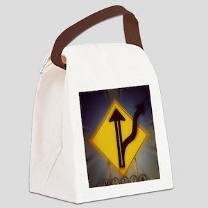 MGTOW Logo-5 Canvas Lunch Bag