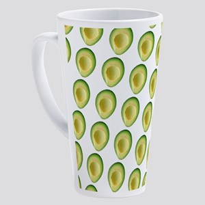 Avocado Frenzy 4George 17 oz Latte Mug