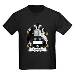 Ashfield Family Crest Kids Dark T-Shirt