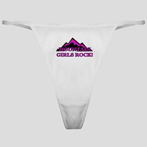 Mountain girls rock Classic Thong