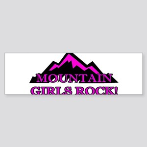 Mountain girls rock Bumper Sticker