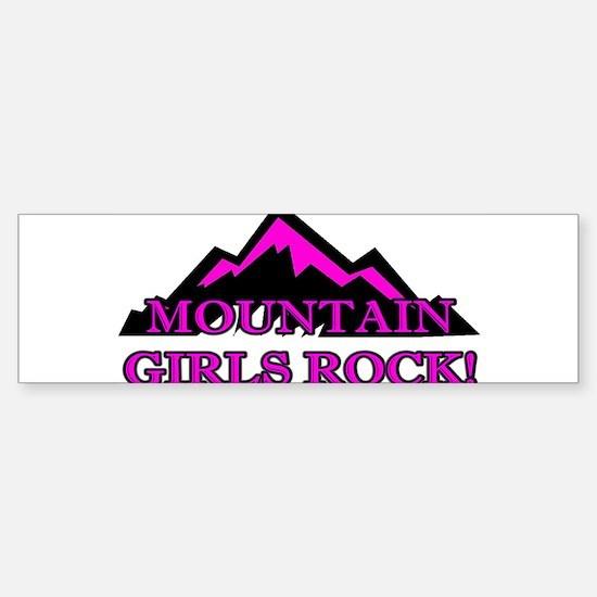 Mountain girls rock Bumper Bumper Bumper Sticker