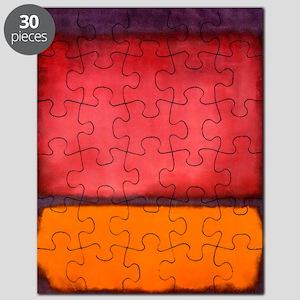 ROTHKO ORANGE RED PURPLE Puzzle