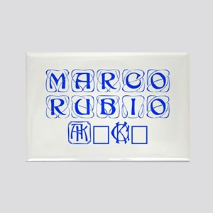 Marco Rubio 2016-Kon blue 460 Magnets