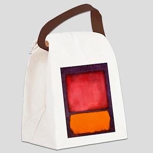 ROTHKO ORANGE RED PURPLE Canvas Lunch Bag