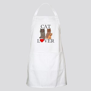 Cat Lover BBQ Apron