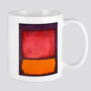 ROTHKO ORANGE RED PURPLE Mugs