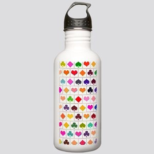 Playing card suits Stainless Water Bottle 1.0L