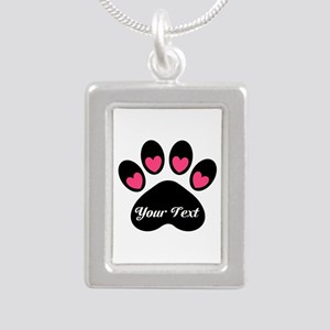Personalizable Paw Print Necklaces