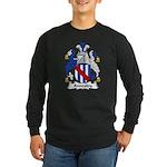 Annesley Family Crest Long Sleeve Dark T-Shirt