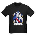 Annesley Family Crest Kids Dark T-Shirt