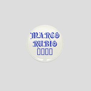 Marco Rubio 2016-Pre blue 550 Mini Button