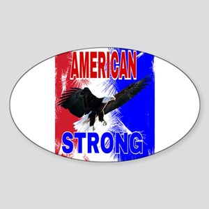 AMERICAN STRONG Sticker