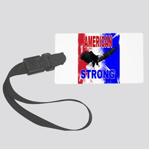 AMERICAN STRONG Large Luggage Tag