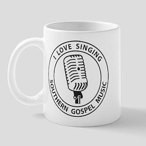 """""""I Love Singing SGM""""  Mug"""