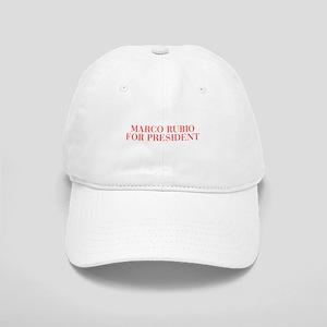 Marco Rubio for President-Bau red 500 Baseball Cap