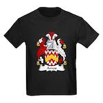 Amos Family Crest Kids Dark T-Shirt