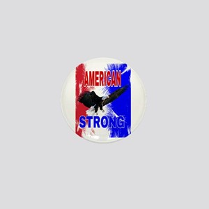 AMERICAN STRONG Mini Button