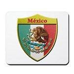 Mexico Metallic Shield Mousepad