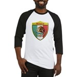 Mexico Metallic Shield Baseball Jersey