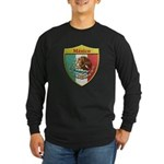 Mexico Metallic Shield Long Sleeve T-Shirt