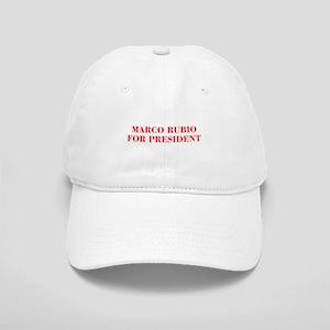 Marco Rubio for President-Bod red 421 Baseball Cap