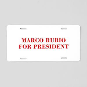 Marco Rubio for President-Bod red 421 Aluminum Lic