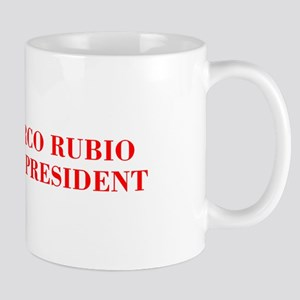 Marco Rubio for President-Bod red 421 Mugs