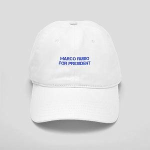 Marco Rubio for President-Cap blue 500 Baseball Ca