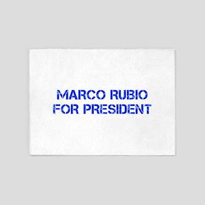Marco Rubio for President-Cap blue 500 5'x7'Area R