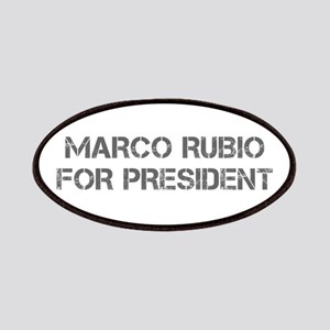 Marco Rubio for President-Cap gray 500 Patch