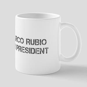 Marco Rubio for President-Cap gray 500 Mugs