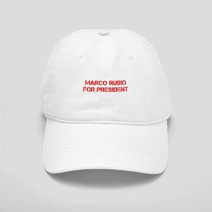 Marco Rubio for President-Cap red 500 Baseball Cap