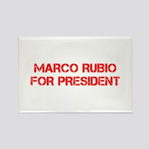 Marco Rubio for President-Cap red 500 Magnets
