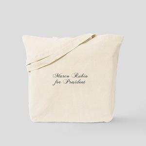 Marco Rubio for President-Cho gray 300 Tote Bag