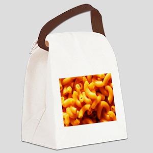macaroni cheese Canvas Lunch Bag