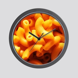 macaroni cheese Wall Clock