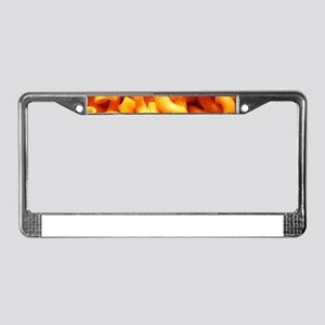 macaroni cheese License Plate Frame