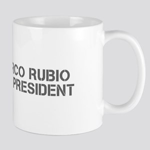Marco Rubio for President-Cle gray 500 Mugs