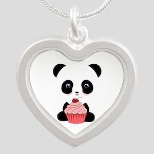 Panda Bear Cupcake Necklaces