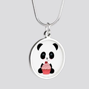 Panda Bear Cupcake Necklaces