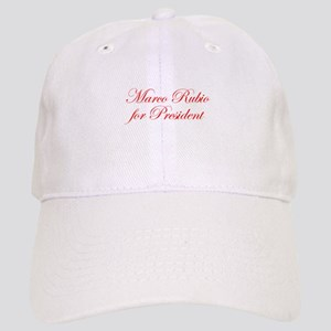 Marco Rubio for President-Edw red 470 Baseball Cap