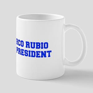 Marco Rubio for President-Fre blue 600 Mugs