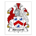 Aldworth Family Crest Small Poster